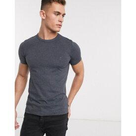 フレンチコネクション メンズ Tシャツ トップス French Connection crew neck t-shirt Navy
