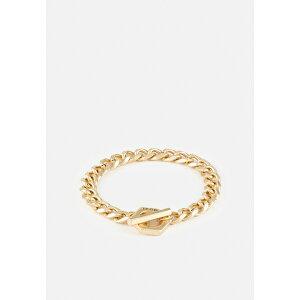 アイコンブランド メンズ ブレスレット・バングル・アンクレット アクセサリー DESERT COMRADE HEXAGONAL BRACELET - Bracelet - gold-coloured