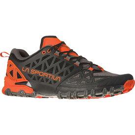 ラスポルティバ メンズ ランニング スポーツ La Sportiva Men's Bushido II Shoe Carbon / Tangerine