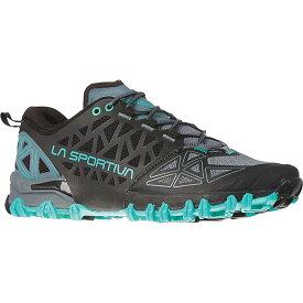 ラスポルティバ レディース ランニング スポーツ La Sportiva Women's Bushido II Shoe Slate / Aqua
