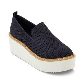 ダナ キャラン ニューヨーク レディース スニーカー シューズ Bari Platform Sneakers Navy