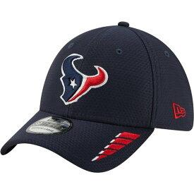 ニューエラ メンズ 帽子 アクセサリー New Era Men's Houston Texans Rush 39THIRTY Cap Navy