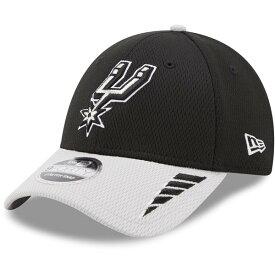 ニューエラ メンズ 帽子 アクセサリー New Era Men's San Antonio Spurs 2Tone Rush 9FORTYSS Cap Black/Grey