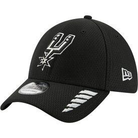 ニューエラ メンズ 帽子 アクセサリー New Era Men's San Antonio Spurs Rush OTC 39THIRTY Cap Black