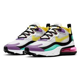 ナイキ レディース スニーカー シューズ Nike Air Max 270 React Sneaker (Women) White/ Yellow/ Black/ Violet