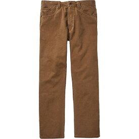 フィルソン メンズ カジュアルパンツ ボトムス Filson Men's Dry Tin 5 Pocket Pant Whiskey
