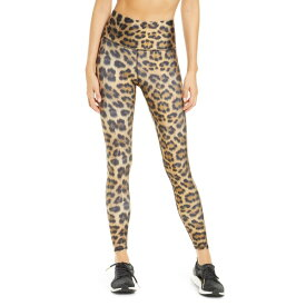 テレズ レディース レギンス ボトムス Terez High Waist Leopard Print Leggings Leopard Goals