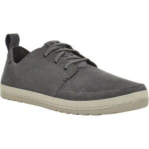 テバ メンズ スニーカー シューズ Canyon Life Leather Sneaker (Men's) Dark Gull Grey Leather/Suede