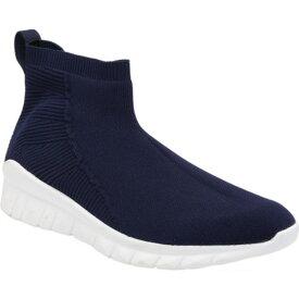 ナオト レディース スニーカー シューズ Callisto High Top Sneaker (Women's) Navy Knit