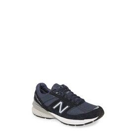 ニューバランス レディース スニーカー シューズ 990v5 Sneaker Navy