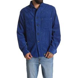 デウス エクス マキナ メンズ シャツ トップス The Gear Overshirt DUSTY BLUE
