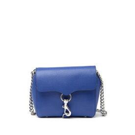 レベッカミンコフ レディース ショルダーバッグ バッグ Stella Mini Leather Crossbody Bag MAJORKA BLUE
