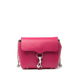 レベッカミンコフ レディース ショルダーバッグ バッグ Stella Mini Leather Crossbody Bag BRT FUSCHIA