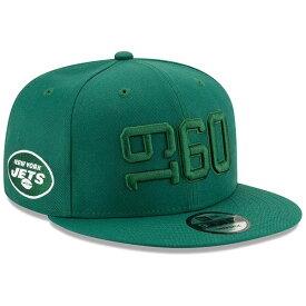 ニューエラ メンズ 帽子 アクセサリー New York Jets New Era 2019 NFL Sideline Color Rush 9FIFTY Adjustable Snapback Hat Green