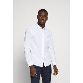 カルバンクライン メンズ シャツ トップス SLIM FIT - Formal shirt - white