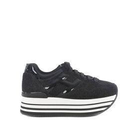 ホーガン レディース スニーカー シューズ Maxi H222 Platform Sneakers Nero