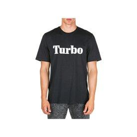 エムエスジイエム メンズ カットソー トップス MSGM Short Sleeve T-shirt Crew Neckline Jumper Turbo Nero