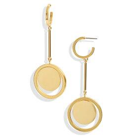 ジェイクルー レディース ピアス&イヤリング アクセサリー J.Crew Circle Swing Earrings Burnished Gold
