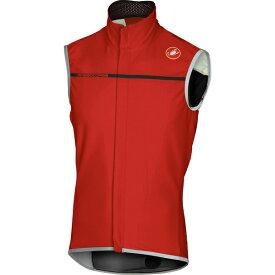 カステリ メンズ サイクリング スポーツ Perfetto Vest - Men's Red