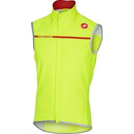 カステリ メンズ サイクリング スポーツ Perfetto Vest - Men's Yellow Fluo