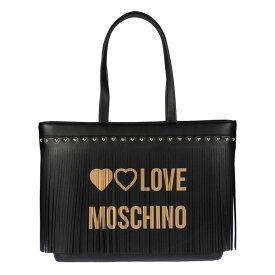 ラブ モスキーノ レディース トートバッグ バッグ Love Moschino Fringed Tote -
