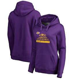 ファナティクス レディース パーカー・スウェットシャツ アウター Los Angeles Lakers Fanatics Branded Women's Lakers Republic Hometown Collection Pullover Hoodie Purple