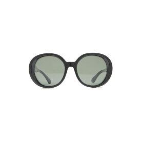 オリバーピープルズ メンズ サングラス・アイウェア アクセサリー 56mm Leidy Round Sunglasses Black