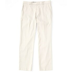 ペリーエリス メンズ カジュアルパンツ ボトムス Premium Performance Flat-Front Classic Fit Flex Waist Stretch Pants Stone