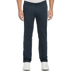 ペリーエリス メンズ カジュアルパンツ ボトムス Slim-Fit flat Front 5-Pocket Stretch Pants Midnight Navy