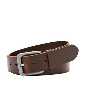 フォッシル メンズ ベルト アクセサリー Otis Leather Belt Brown