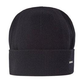 ヒューゴボス メンズ 帽子 アクセサリー BOSS Men's T-Marietto Beanie Hat Dark Blue
