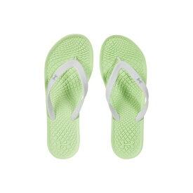 アンダーアーマー レディース サンダル シューズ UA Atlantic Dune T Summer Lime/Fisher Green