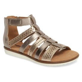 クラークス レディース サンダル シューズ Clarks Kele Lotus Sandal (Women) Metallic Multi Leather