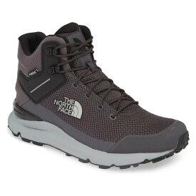 ノースフェイス メンズ ブーツ&レインブーツ シューズ The North Face Val Mid Waterproof Hiking Boot (Men) Blackened Pearl/ Black