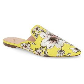 ジェイクルー レディース サンダル シューズ J.Crew Brocade Pointy Toe Slide (Women) Yellow/ Grey/ Pink