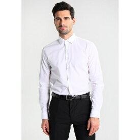 カルバン クライン テイラード メンズ シャツ トップス BARI SLIM FIT - Formal shirt - white xngb018f