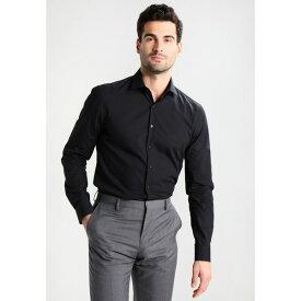 カルバン クライン テイラード メンズ シャツ トップス BARI SLIM FIT - Formal shirt - black xngb0190
