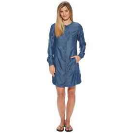 プラーナ レディース ワンピース トップス Aliki Shirt Dress Antique Blue