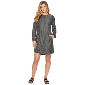 プラーナ レディース ワンピース トップス Aliki Shirt Dress Grey Wash
