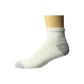 ヘインズ メンズ 靴下 アンダーウェア 6-Pack Ankle Socks White