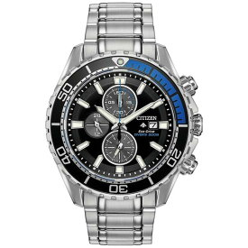 シチズン レディース 腕時計 アクセサリー Eco-Drive Men's Promaster Diver Stainless Steel Bracelet Watch 46mm Stainless Steel