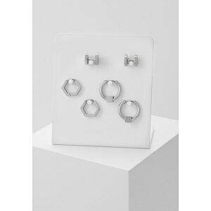 アイコンブランド メンズ ピアス・イヤリング アクセサリー CONVEYOR EARRING SET - Earrings - silver-coloured xyeq0050