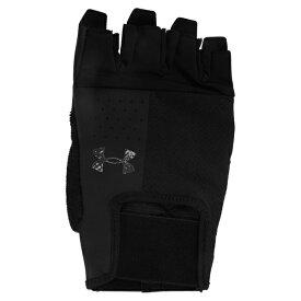 アンダーアーマー メンズ 手袋 アクセサリー ENTRY TRAINING GLOVE - Fingerless gloves - black/pitch grey xyeq0051