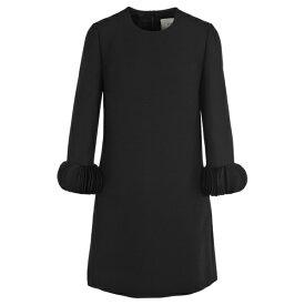 ヴァレンティノ レディース ワンピース トップス Valentino Ornamental Sleeve Dress BLACK