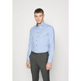 カルバン クライン テイラード メンズ シャツ トップス CONTRAST PRINT SLIM SHIRT - Formal shirt - blue ycvx012d