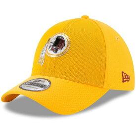 ニューエラ メンズ 帽子 アクセサリー Washington Redskins New Era 2017 Color Rush 39THIRTY Flex Hat Gold