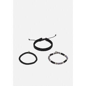 アイコンブランド メンズ ブレスレット・バングル・アンクレット アクセサリー ALL NIGHT LONG COMBO 3 PACK - Bracelet - grey