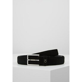 カルバンクライン メンズ ベルト アクセサリー FORMAL BELT - Belt - black ygbh0240