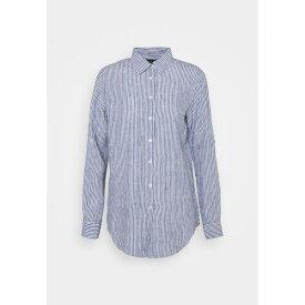 ラルフローレン レディース シャツ トップス TISSUE - Button-down blouse - blue