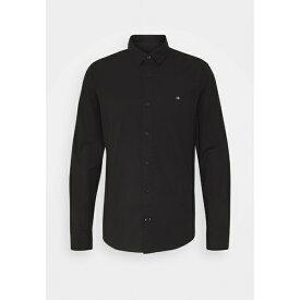 カルバンクライン メンズ シャツ トップス SLIM FIT - Formal shirt - black yhst00e1